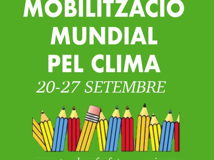 27 DE SETEMBRE VAGA MUNDIAL PEL CLIMA